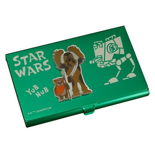 Star Wars Chewbacca and Ewok Business Card Holder