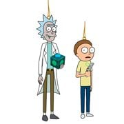 Rick and Morty Blowmold Figural Ornament Set