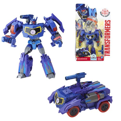 Transformers Robots in Disguise Combiner Force Warrior Class Soundwave