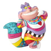 Disney Alice In Wonderland Cheshire Cat Mini Statue By Romero Britto