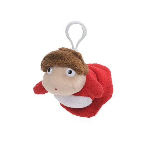 Studio Ghibli Ponyo 4-Inch Backpack Clip Key Chain