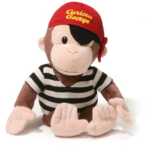 Curious George Pirate 13-Inch Plush