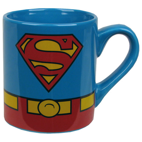 Superman Uniform Logo 14 oz. Mug