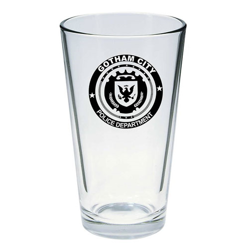 Gotham City Police Pint Glass