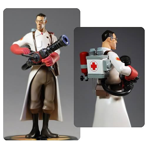 Team Fortress 2 The Medic RED Statue