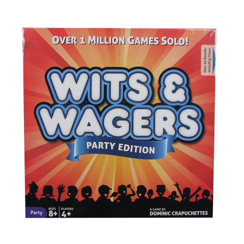 Wits and Wagers Party Board Game