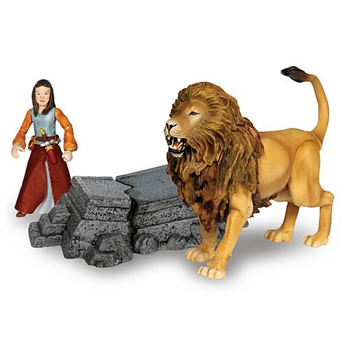 Scary Squeeze Stuffed Animals, Narnia Prince Caspian Lucy With Aslan Beast Riders Figures