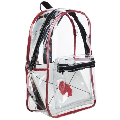 Harry Potter Hogwarts Clear Backpack with Removable Envelope Pouch