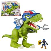 Chomp Squad Playskool Heroes Troopersaurus and Bobby Badge