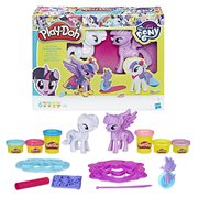 My Little Pony Play-Doh Princess Twilight Sparkle and Rarity Fashion Fun