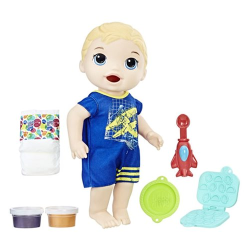 Baby Alive Super Snacks Snackin' Luke Blonde Doll