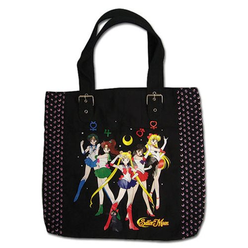 Sailor Moon Sailor Soldiers Tote Bag