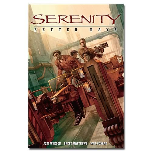 Serenity Better Days Graphic Novel