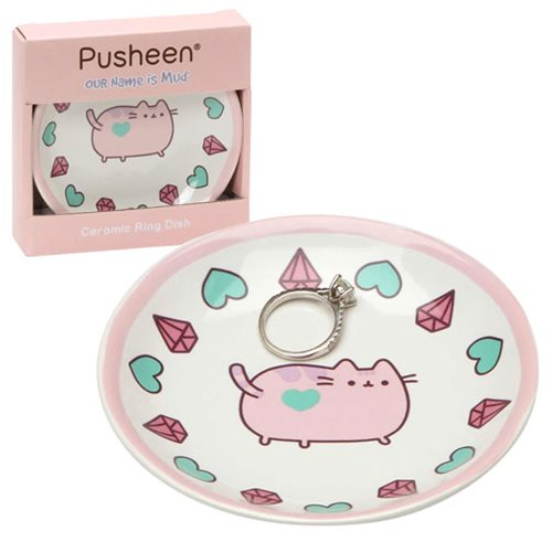 Pusheen the Cat Pink Trinket Tray