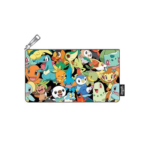 Pokemon Start Print Pencil Case