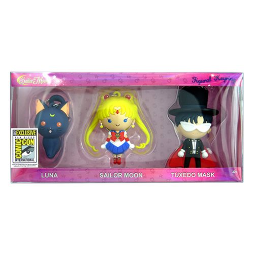 Sailor Moon 3D Figural Key Chain 3-Pack - San Diego Comic-Con 2017 Exclusive