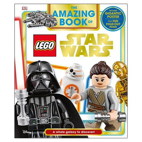 The Amazing Book of LEGO Star Wars Hardcover Book