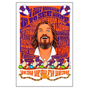 The Big Lebowski Condition Lithograph Print