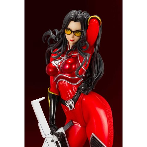 G.I. Joe Baroness Crimson Strike Team Bishoujo Statue