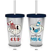 Cuphead One Tough Cup Travel Cup