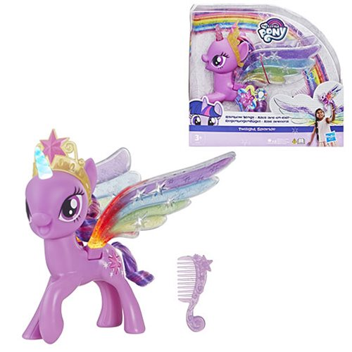 My Little Pony Electronic Rainbow Wings Twilight Sparkle with Lights and Moving Wings