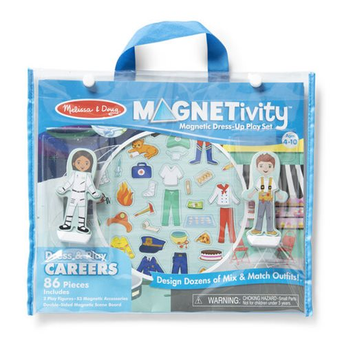 Magnetivity Dress and Play Careers Magnetic Dress-Up Play Set