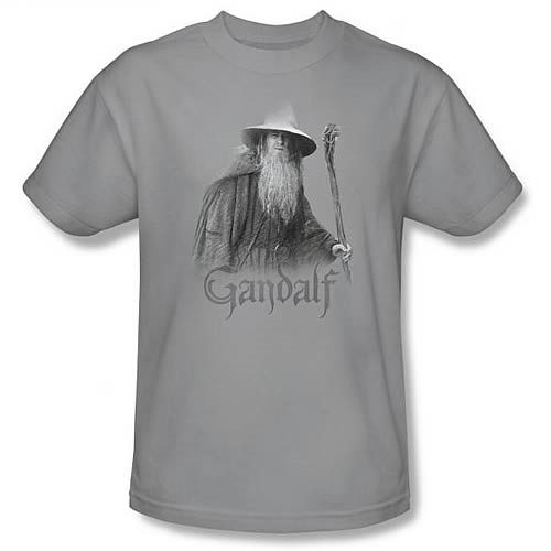 Lord of the Rings Gandalf the Grey Silver T-Shirt