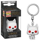 Game of Thrones Ghost Pocket Pop! Key Chain