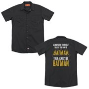 Batman Be Batman Work Shirt