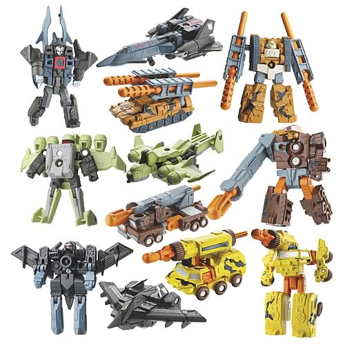 Transformers Cybertron Mini-Con 2-Packs Wave 1 Set