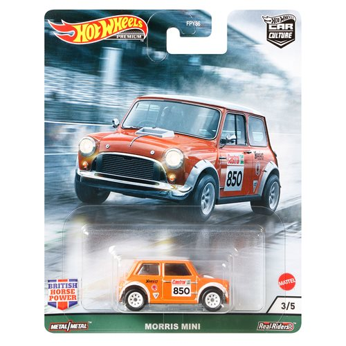Hot Wheels Car Culture British Mix 1 Vehicle Case