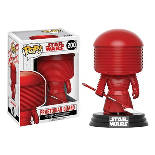 Star Wars: The Last Jedi Praetorian Guard Pop! Vinyl Bobble Head #200