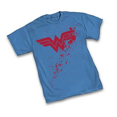 Wonder Woman Splatter Symbol T-Shirt