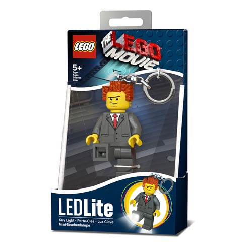 The LEGO Movie President Business Minifigure Flashlight