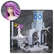 Saint Seiya Fire Clock of the Sanctuary Goddess Athena and Soldiers D.D. Panoramation Action Figure Diorama Stand