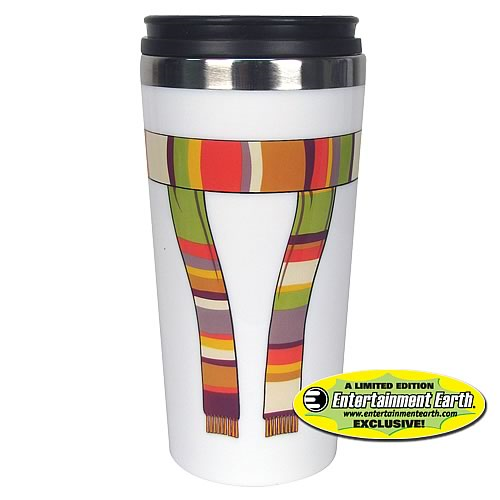 EE Exclusive Doctor Who 4th Doctor Scarf Travel Mug