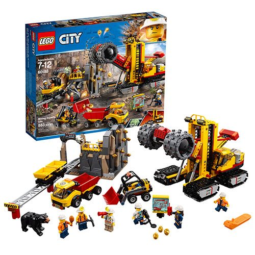 LEGO City Mining 60188 Mining Experts Site