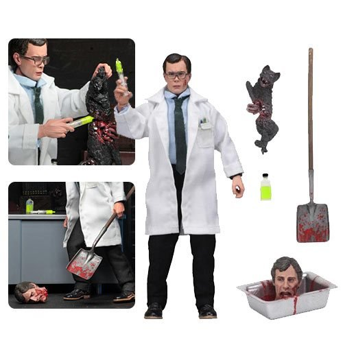 Re-Animator Herbert West 8-Inch Cloth Action Figure