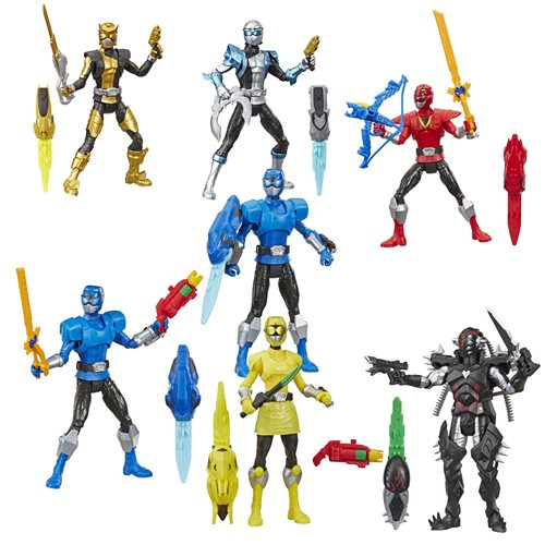 Power Rangers Basic 6-Inch Action Figures Wave 5 Case