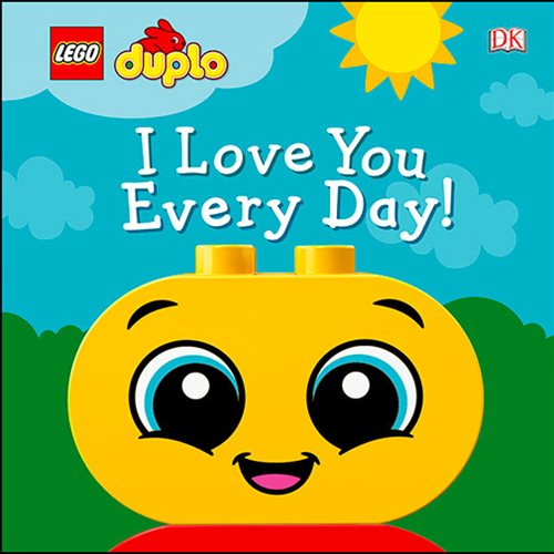 LEGO DUPLO I Love You Every Day Hardcover Book