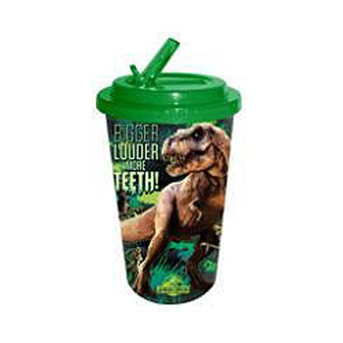 Jurassic World Teeth 16 oz. Flip-Straw Travel Cup