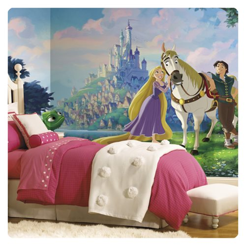 Tangled Rapunzel XL Chair Rail Prepasted Mural