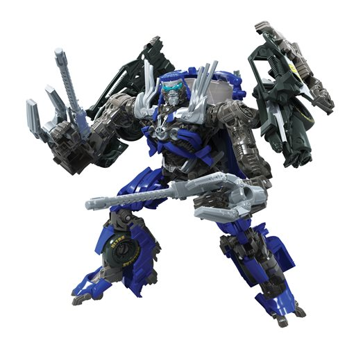 Transformers Studio Series Deluxe Bumblebee Movie Topspin