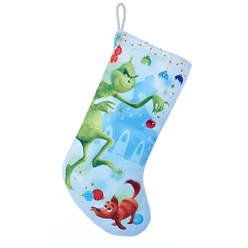 The Grinch Naughty 19-Inch Printed Stocking