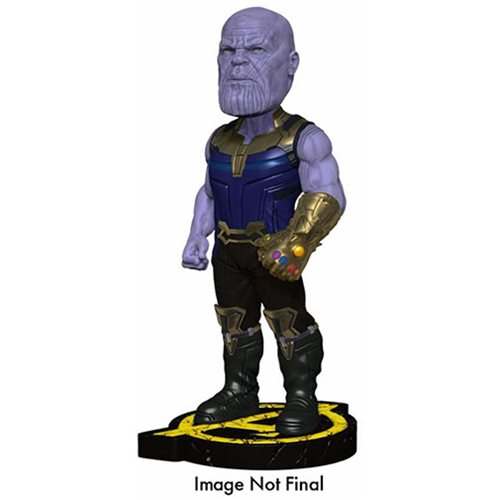 Avengers: Infinity War Thanos Resin Head Knocker Bobble Head
