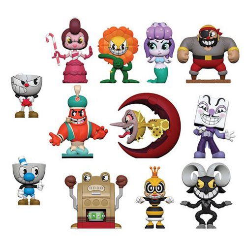 Cuphead Series 1 Mystery Minis Display Case