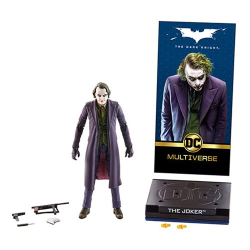 DC Multiverse Deluxe Joker Action Figure, Not Mint