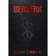 Berserk Deluxe Volume 4 Hardcover Book