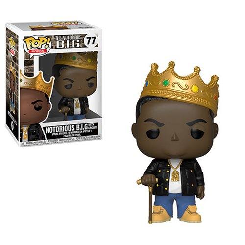 Notorious B.I.G. Crown Pop! Vinyl Figure #77