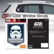 Star Wars Stormtrooper Imperial Infantry Badge Window Decal